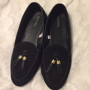Black shoes by merona size 8
